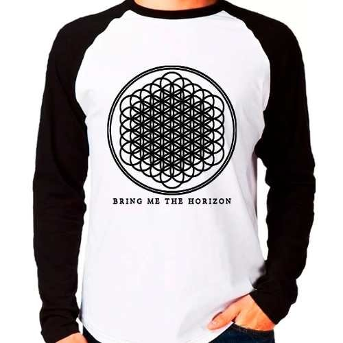 Camiseta Bring Me The Horizon Bmth Sempiternal Manga Longa