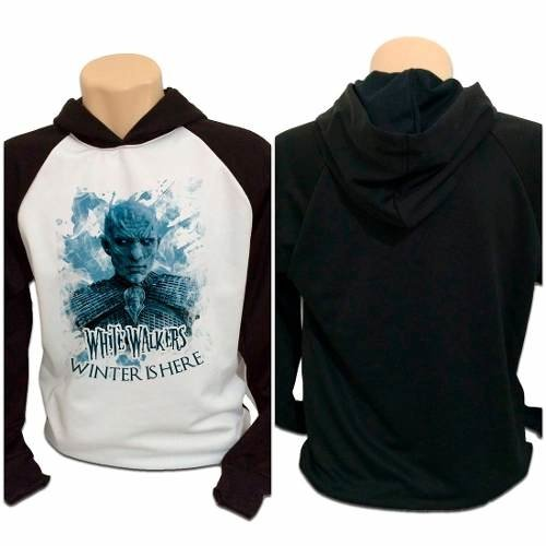 Casaco Blusa Moletom Game Of Thrones White Walkers