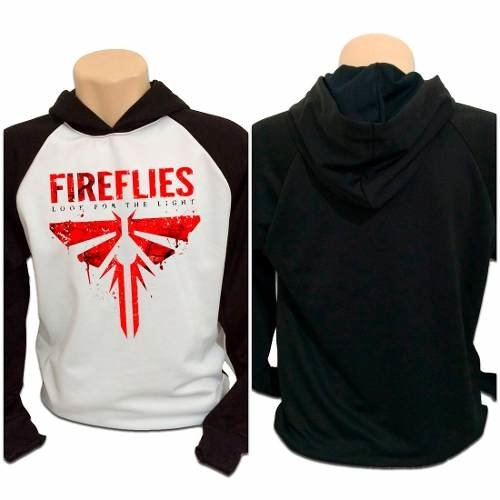 Casaco Blusa Moletom The Last Of Us Fireflies