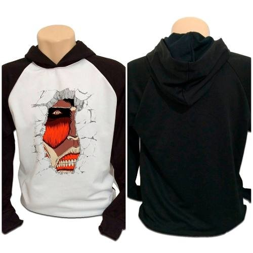 Casaco Blusa Moletom Attack On Titan Shingeki No Kyojin Titã