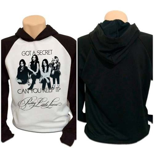 Casaco Blusa Moletom Pretty Little Liars Got A Secret Pll