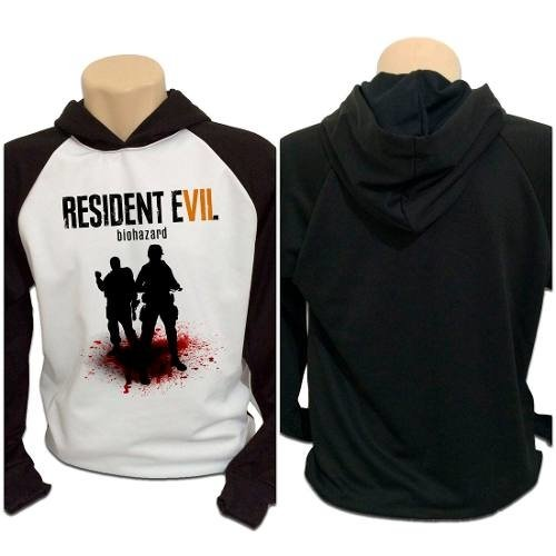 Casaco Blusa Moletom Game Resident Evil 7 Re Vii
