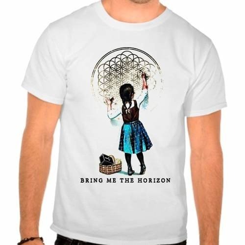 Camiseta Branca Bring Me The Horizon - Bmth - Sempiternal