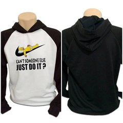 Casaco Blusa Moletom Homer Simpsom Just Do It