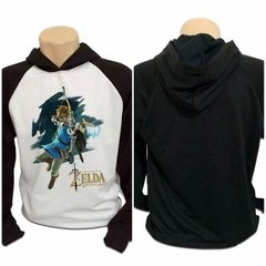 Casaco Blusa Moletom Zelda Breath Of The Wild