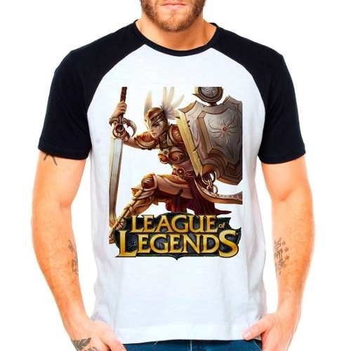 Camiseta Raglan League Of Legends Leona Lol Support