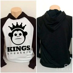 Blusa Moletom Kings Snearkers Swag Last Kings Hip Hop