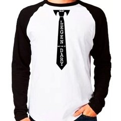 Camiseta How I Met Your Mother Wait For It Raglan Longa