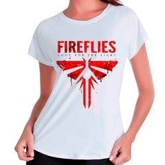 Camiseta Babylook The Last Of Us Fireflies