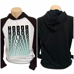 Casaco Blusa Moletom Game Of Thrones Got Hodor Hold The Door