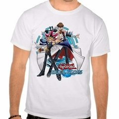 Camiseta Branca Yu-gi-oh! Duel Links Game