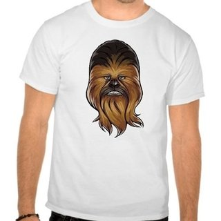 Camiseta Branca Star Wars Chewbacca Film...