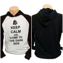 Casaco Blusa Moletom Star Wars Dark Side