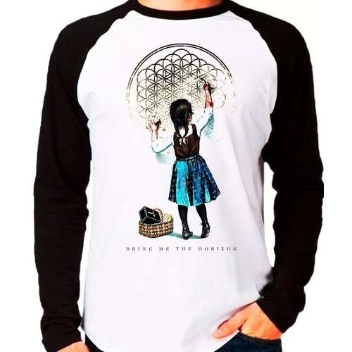 Camiseta Bring Me The Horizon Sempiternal Girl Manga Longa