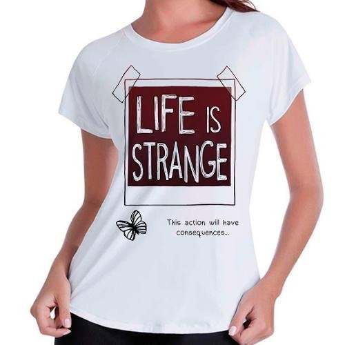 Camiseta Babylook Life Is Strange
