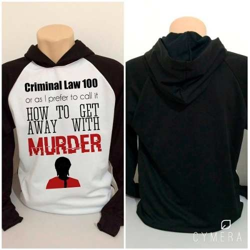 Casaco Blusa Moletom Série How To Get Away With Murder