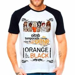 Camiseta Raglan Série Orange Is The New Black Oitnb