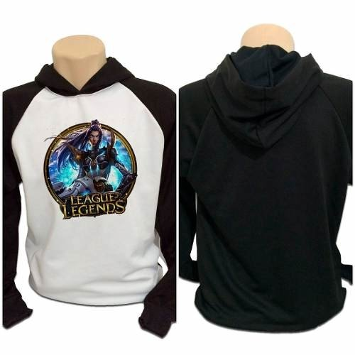 Casaco Blusa Moletom Lol League Of Legends Caitlyn Pulsefire