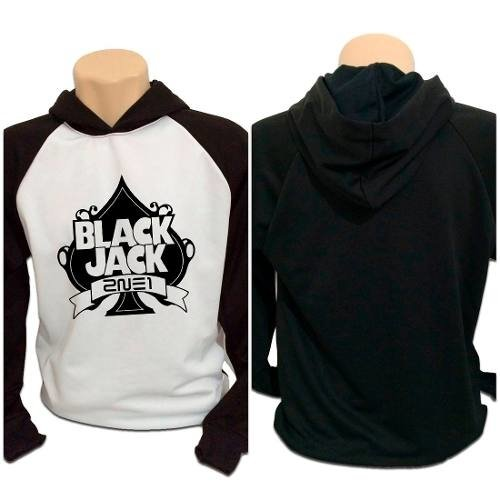 Casaco Blusa Moletom Kpop 2ne1 Blackjack In Black Jack Kpop