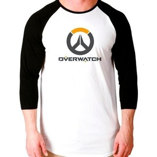 Camiseta Overwatch V2 Game Raglan Manga...