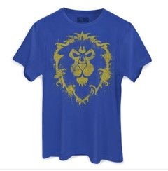 Camiseta Masculina World of Warcraft Aliança - comprar online