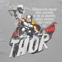 Camiseta Marvel Deus do Trovão - comprar online
