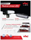 Vic LX-505 - FARO UNIVERSAL LED DE TRABAJO (MEDIA DISTANCIA)