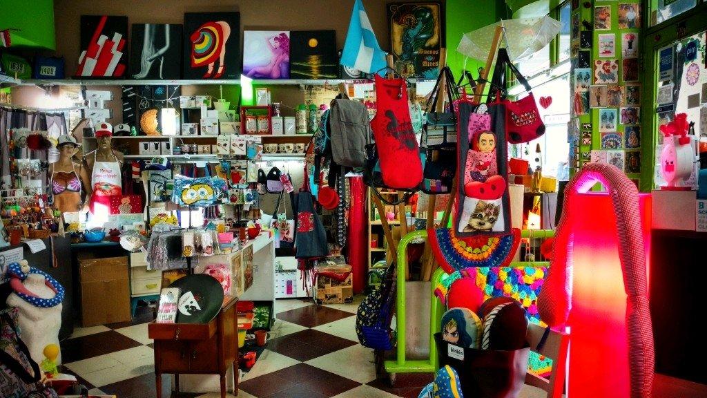 Butterfly shop