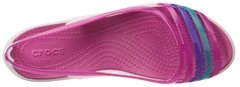 Isabella Huarache Flat-Oyster/berry - Funny Look