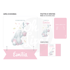 Kit Nacimiento con Alcohol en gel -Emilia-