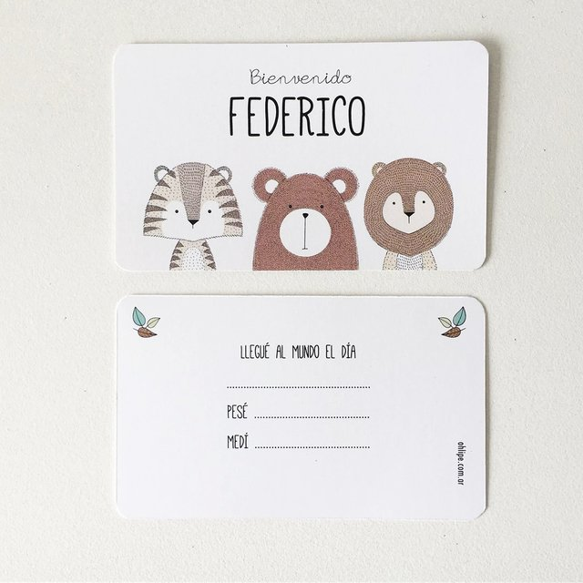 Kit Nacimiento con chocolates -Woods- - comprar online