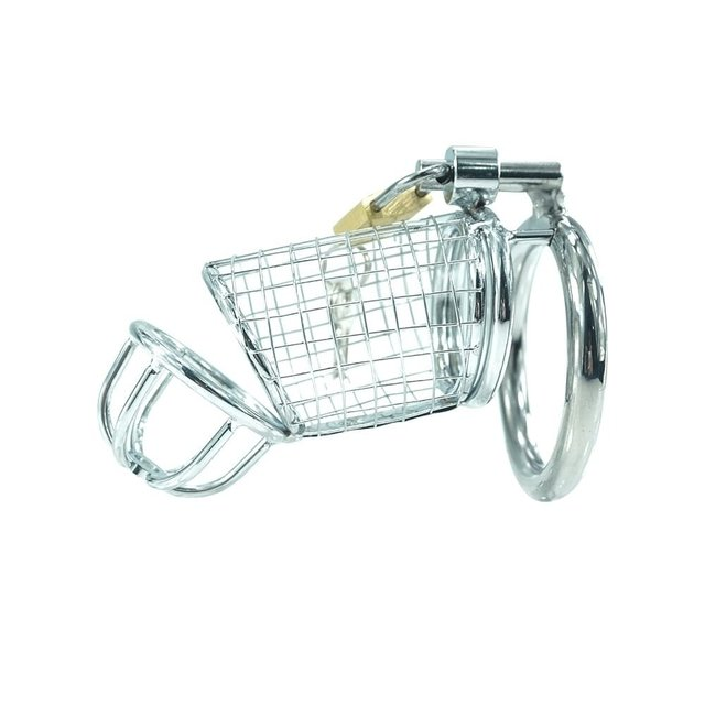 Steel Chastity Cage - Cod: 1956-24 - comprar online