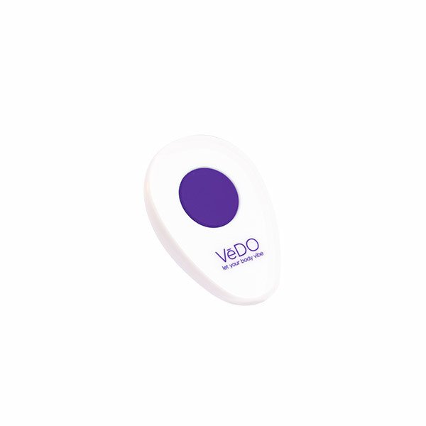 VeDO Peach Vibrating Egg Purple - Cod: VI-B0303 - Extasy Sex Shop