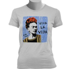 Imagem do CAMISETA BABY LOOK DA FRIDA KAHLO: VIVA LA VIDA