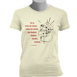 Imagem do CAMISETA BABY LOOK DO PAULO LEMINSKI: LUCHA DE CLASES