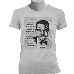 CAMISETA BABY LOOK DO MALCOLM X