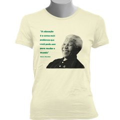 Imagem do CAMISETA BABY LOOK DO NELSON MANDELA