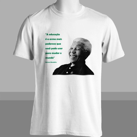 Imagem do CAMISETA UNISSEX DO NELSON MANDELA
