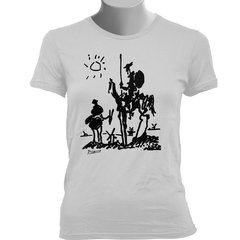 CAMISETA BABY LOOK DO DOM QUIXOTE: PICASSO