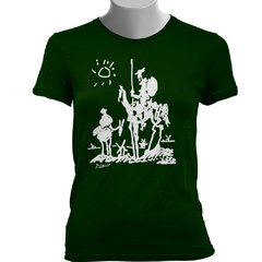 CAMISETA BABY LOOK DO DOM QUIXOTE: PICASSO na internet