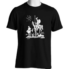 CAMISETA UNISSEX DO DOM QUIXOTE: PICASSO na internet
