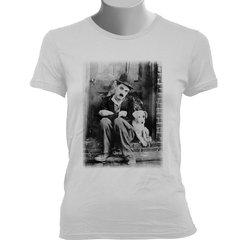 CAMISETA BABY LOOK DO CHAPLIN: VIDA DE CACHORRO na internet