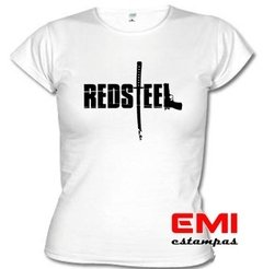 Camiseta Games Red Steel - EMI estampas