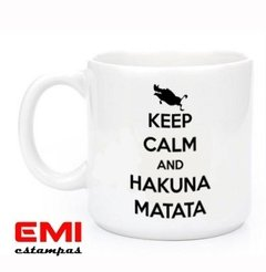 Canecas Engraçadas Keep Calm And Hakuna Matata 1899