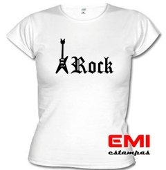 Camiseta Guitarra Rock In Roll 1610 - EMI estampas