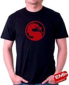 Camiseta Games Mortal Kombat