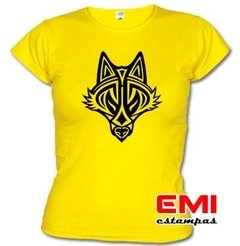 Camiseta Animais Lobo Tribal 1902 - EMI estampas