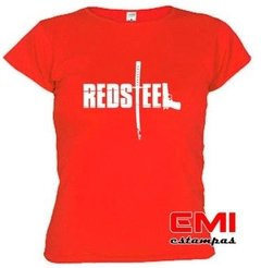 Camiseta Games Red Steel - comprar online