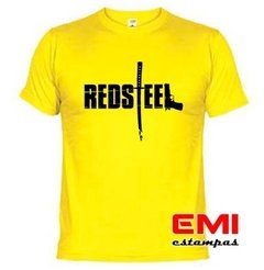 Camiseta Games Red Steel - loja online