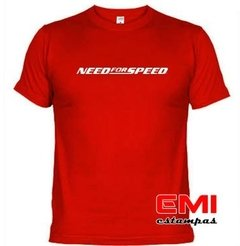 Camiseta Games Need For Speed